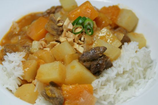 lamb stew with yellow squash