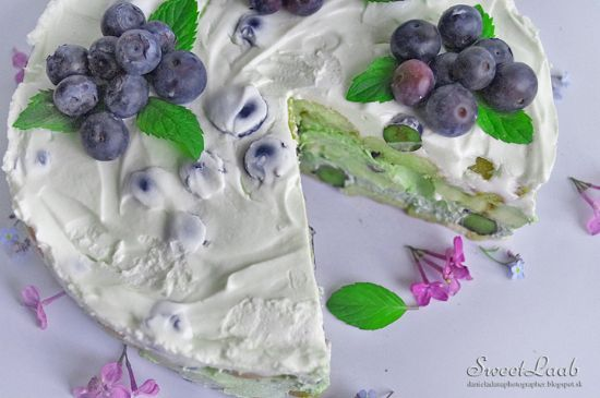 Blueberry Matcha Tiramisu