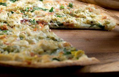 Chicken Artichoke Pizza