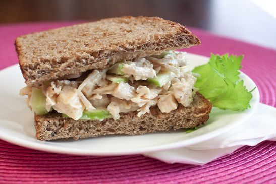 Chicken Apple Salad with Ginger