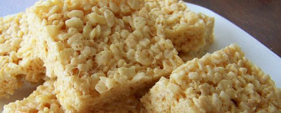 Skinny Rice Crispy Treats