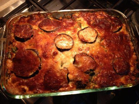 Lulu's Low Carb Eggplant Lasagna