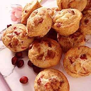 Diabetic Cranberry Walnut Muffins
