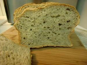 Gluten Free Oat Bread with Flax