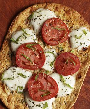 Tomato-Basil Flatout Thin Crust Pizza