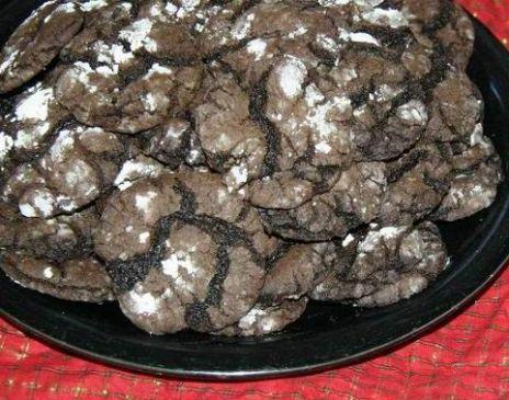 Shortcut Chocolate Crinkles