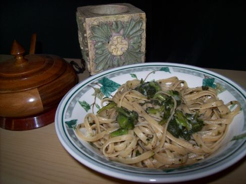Linguini and Broccoli Rabe