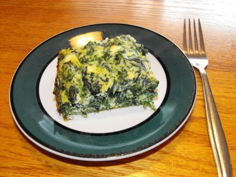 Low Carb Spinach & Feta Egg bake