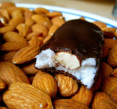 Healthy Almond Joy Bars