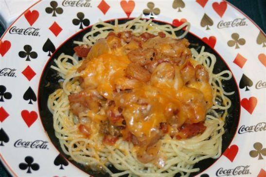 Shrimp Pasta Sizzle!