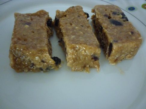 Peanut Butter Energy Bar