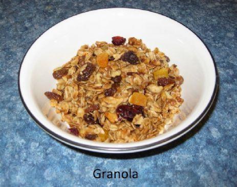 Ushara's Home-Made Granola Cereal