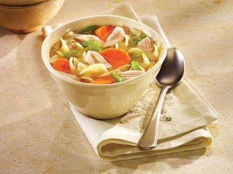 LINDA Sensational Turkey Noodle Soup