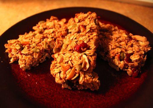 Honey and Nut Granola Bars