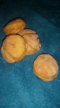 Whole Wheat Sweet Potato Scone
