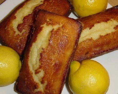 Sweet Lemon Loaf Cake