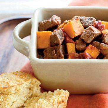 Stewed Pork & Squash