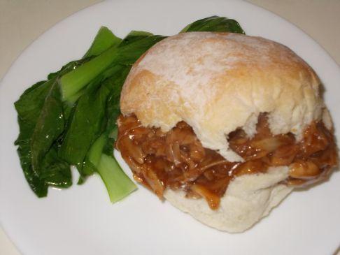 Vegan BBQ Pulled 'Pork' Jackfruit