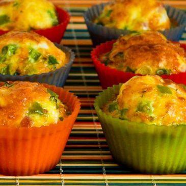 Egg White Casserole Muffins
