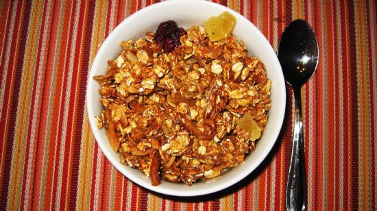 Granola -Clumpy Crunchy Perfect!!