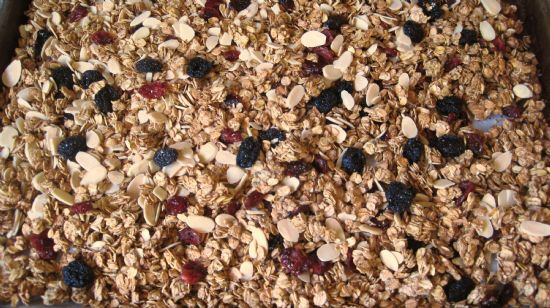 Fruit and Almond Crunchy Granola