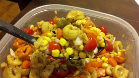 Garden Vegetable Tortellini Salad