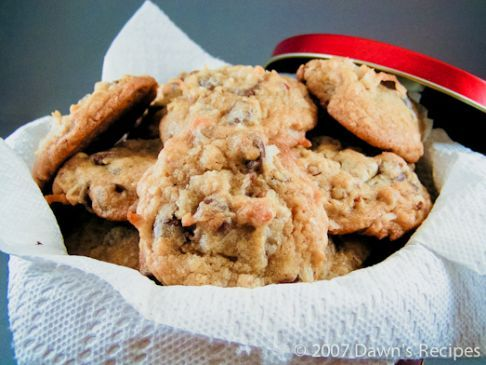 World's Best Cookie - Chocolate Chip Pecan Coconut Cookie!