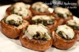 Stuffed Mushroom Appetizer -version 1-