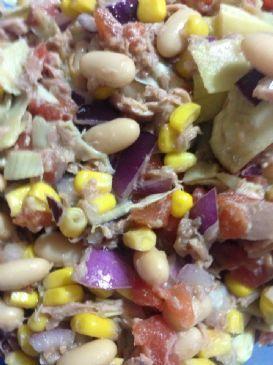 Tuna yellow Bean Salad
