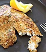 Parmesan-Crusted Tilapia