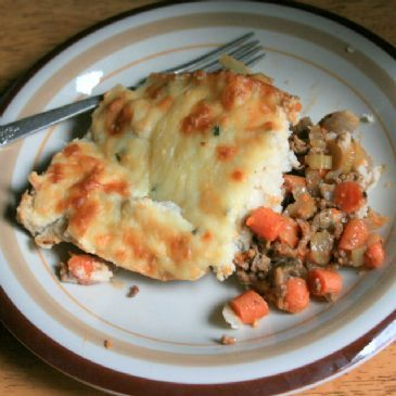 Shepherds Pie with Whipped Cauliflower