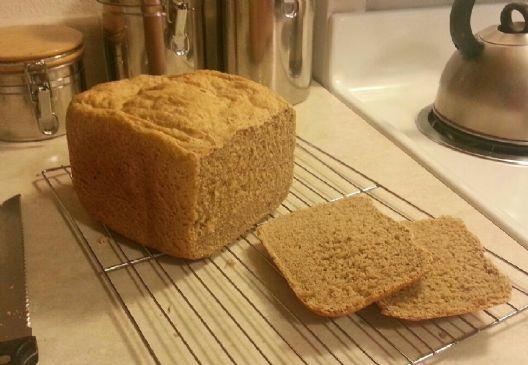 Honey whole wheat & flax-seed bread