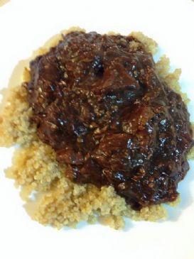 Pepper Steak with Quinoa