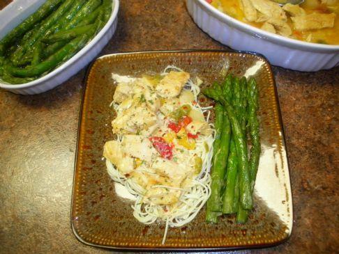 Olive Garden Chicken Scampi Recipe Sparkrecipes