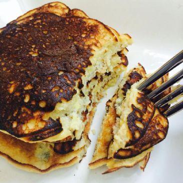 Banana Protein Pancakes (Gluten free, grain free)