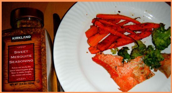 Carrot Fries Mesquite