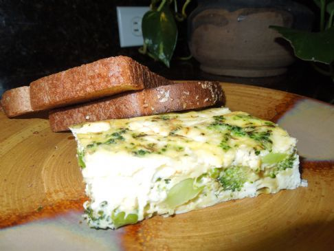 Broccoli Feta Cheese Breakfast Casserole