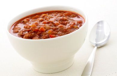 Slow Cooker Chili with Corn, Black Beans, and Ground Turkey