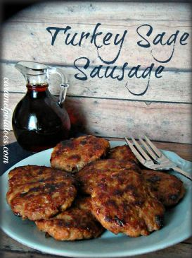Turkey Sage Sausage Patties