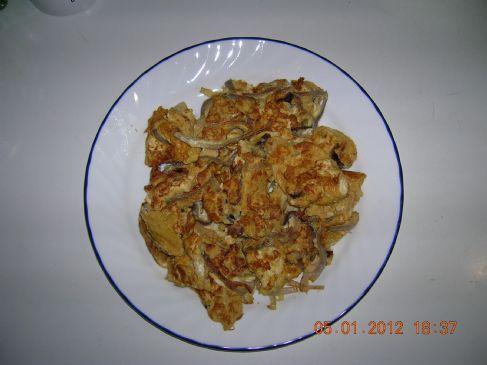 Onion Omelette