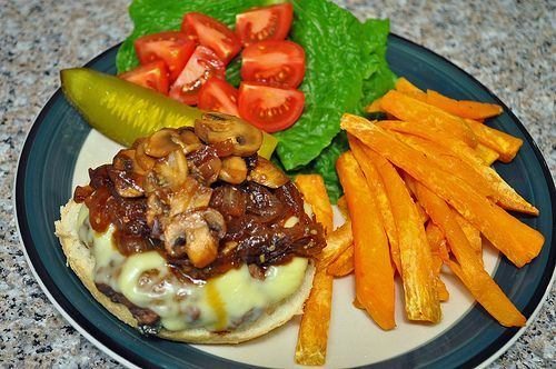 Homestyle Asian Burger