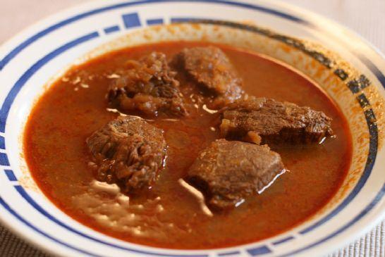 Austrian Rindsgulasch (Beef Goulash)