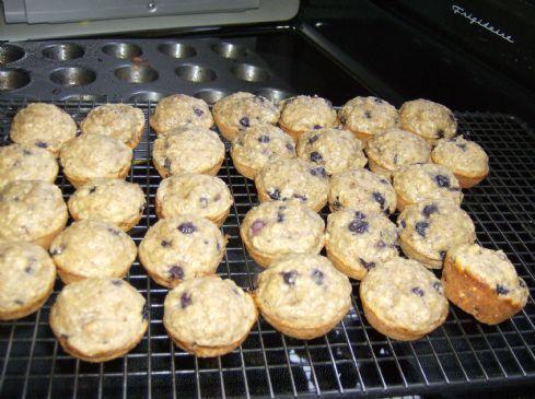 Blueberry Banana Mini-Muffins