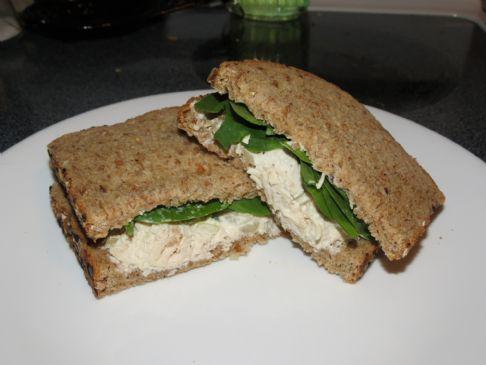 Low Carb. Basil Chicken Salad