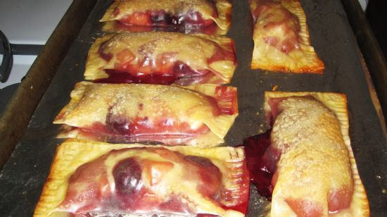 Hungry Girl Apple-Cherry Pie Pockets
