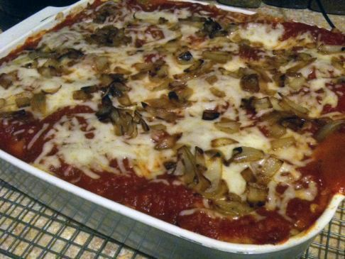 Veggie Lasagna - high veggie/high fiber/low fat