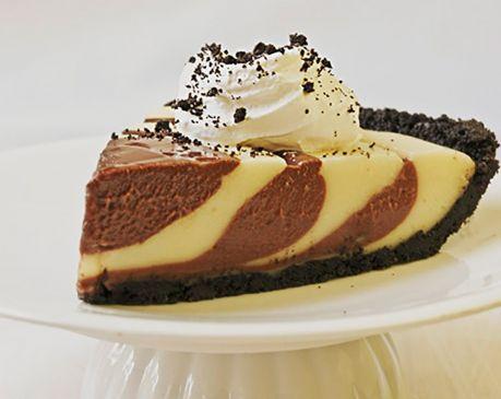 Butterscotch cheesecake pie