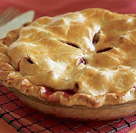 Homemade Rhubarb Pie