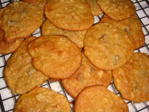 Oatmeal Peanut Butter Banana Cookies