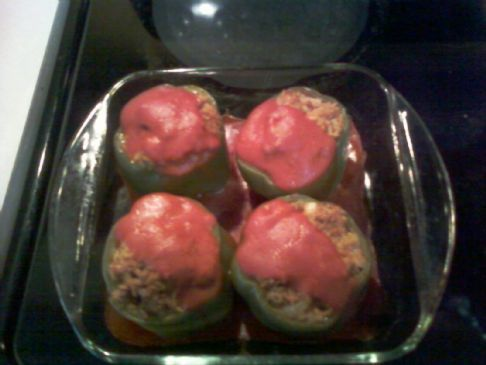 Stuffed Green Bell Peppers